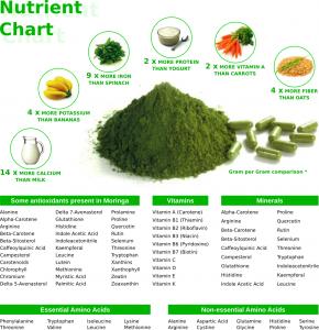 moringa nutrient