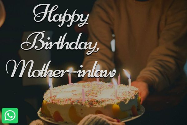 Happy Birthday, Mother -inlaw